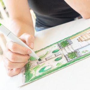 Gartengestaltung und Gartenplanung